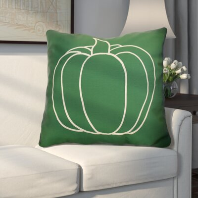 Miller Pumpkin Pie Geometric Euro Pillow Color: Green