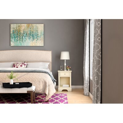 Hillside Hand-Tufted Lilac Area Rug Rug Size: 79 x 99