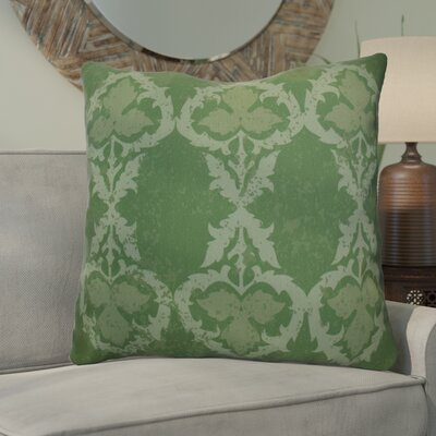 Soluri Geometric Euro Pillow Color: Green
