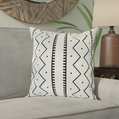 Arlo Polyester Throw Pillow Size: 20 H x 20 W, Color: Cream