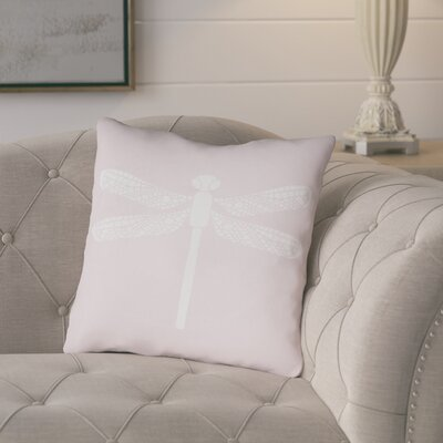 Perez Indoor/Outdoor Throw Pillow Size: 20 H x 20 W x 3.5 D, Color: Light Pink