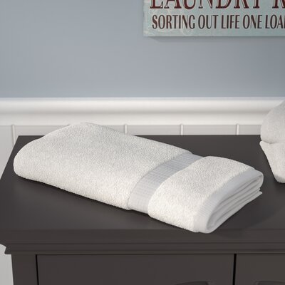 Liam Bath Towel Color: Optical White