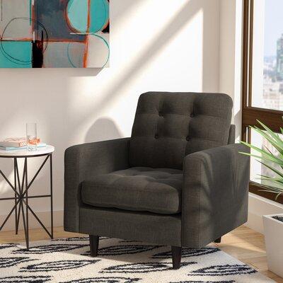 Efimov Armchair Upholstery: Charcoal