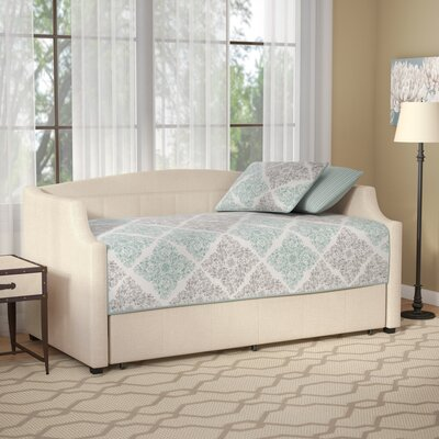 Claflin Daybed with Trundle Color: Beige