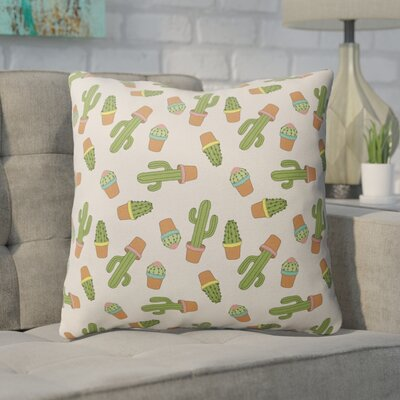 Geter Indoor/Outdoor Throw Pillow Size: 26 H x 26 W x 4 D