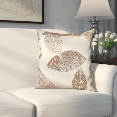 Soto Pillow Cover Color: Brown