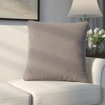 Abshire Throw Pillow Size: 16 H x 16 W x 8 D, Color: Bella Pewter