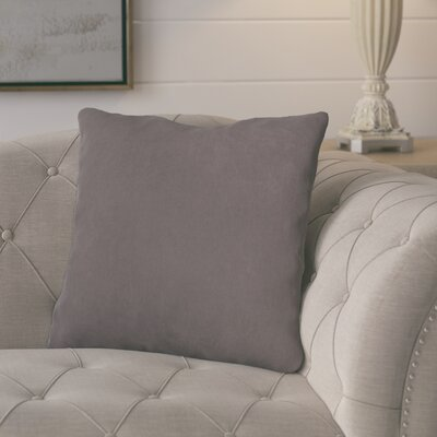 Epineux Throw Pillow Color: Pewter
