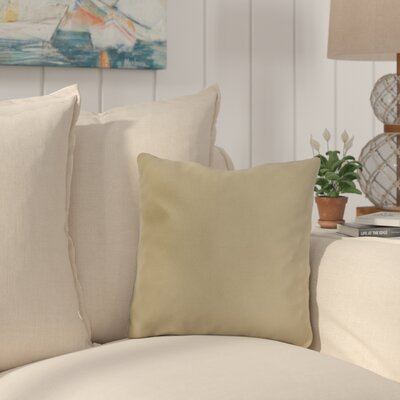 Mayson Outdoor Throw Pillow Color: Antique Beige