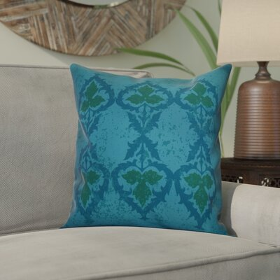 Soluri Geometric Throw Pillow Size: 16 H x 16 W x 2 D, Color: Blue