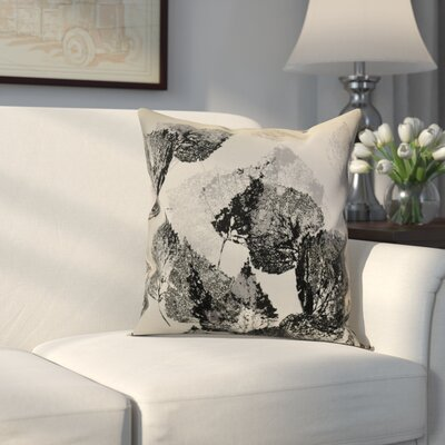 Miller Memories Outdoor Throw Pillow Size: 18 H x 18 W x 2 D, Color: Black