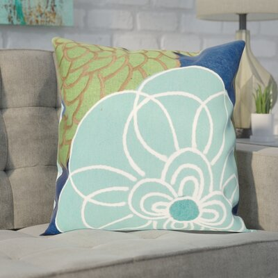 Tengan Disco Throw Pillow Color: Blue