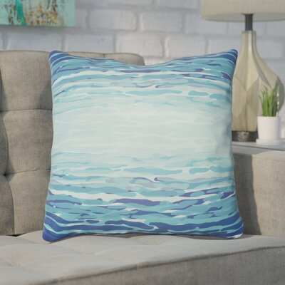 Konnor Iii Throw Pillow Size: 20 H x 20 W x 5 D, Color: Blue