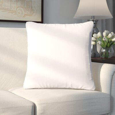 Abner Throw Pillow Size: 16, Color: Shell