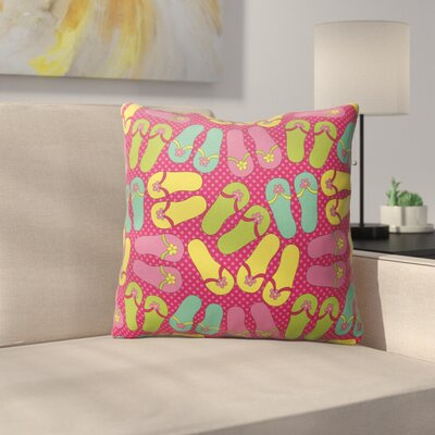 Zadiee Indoor/Outdoor Throw Pillow Size: 18 H x 18 W x 4 D