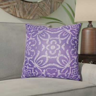 Libchava Indoor Throw Pillow Size: 20 H x 20 W x 4 D, Color: Purple