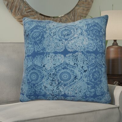 Soluri Patina Geometric Euro Pillow Color: Blue