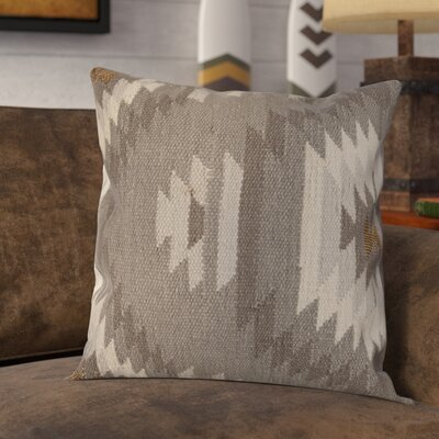 Gleneagle Throw Pillow Color: Gray