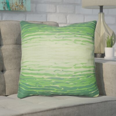 Konnor Iii Throw Pillow Size: 20 H x 20 W x 5 D, Color: Green