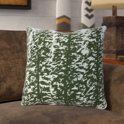 Joulon Hidden Forest Outdoor Throw Pillow Size: 16 H x 16 W, Color: Green