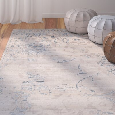 Elisha Beige Area Rug Rug Size: Rectangle 4 x 6