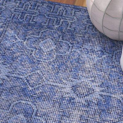 Koh Blue Area Rug Rug Size: 8 x 10