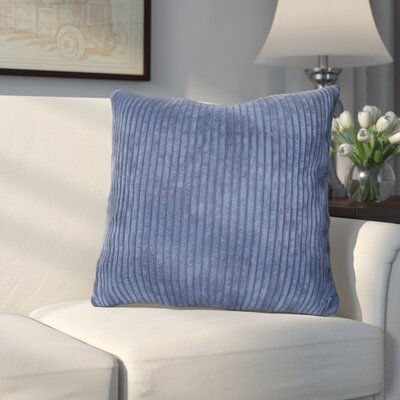 Bluff Throw Pillow Color: Blue