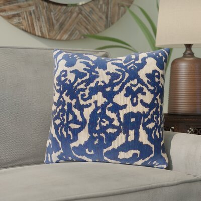 Tatum Throw Pillow Size: 18 H x 18 W x 3.5 D, Color: Light Blue