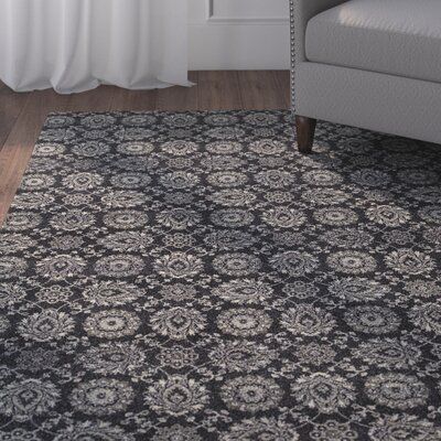 Cynthiana Navy/Gray Area Rug