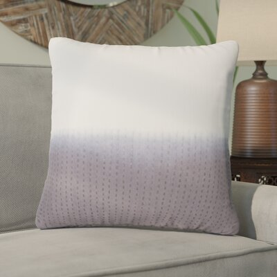 Jermaine Tribal Pattern Cotton Throw Pillow Color: Grey, Size: 14 x 20