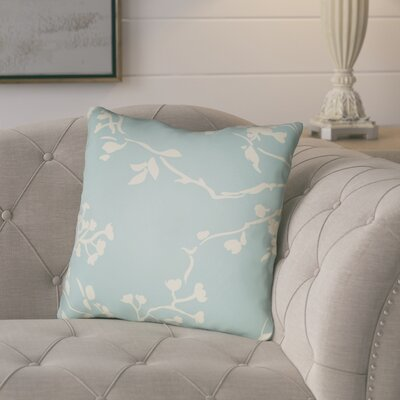 Teena Throw Pillow Size: 22 H �x 22 W x 5 D, Color: Light Blue