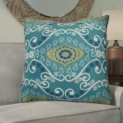 Soluri Illuminate Geometric Euro Pillow Color: Blue