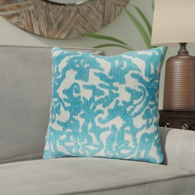 Tatum Throw Pillow Size: 18 H x 18 W x 3.5 D, Color: Sea Foam