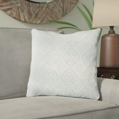 Kody Throw Pillow Size: 18 H x 18 W x 4 D, Color: Sea Foam