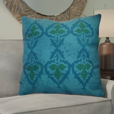 Soluri Geometric Euro Pillow Color: Blue
