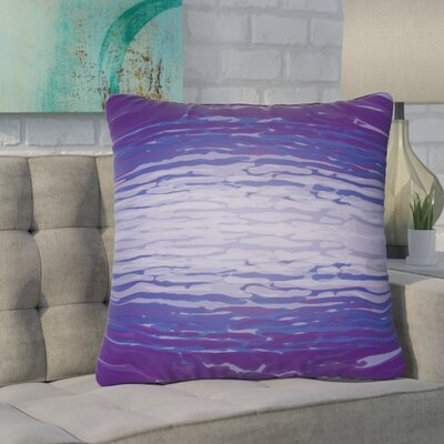 Konnor Indoor/Outdoor Throw Pillow Color: Violet