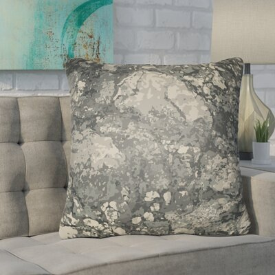 Konnor Indoor/Outdoor Square Throw Pillow Color: Sage