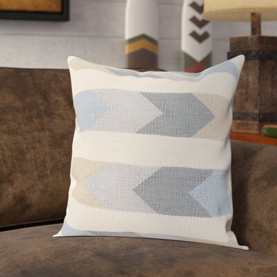 Westall 100% Cotton Throw Pillow Cover Size: 18 H x 18 W x 0.25 D, Color: NeutralGray