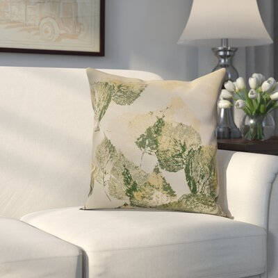 Miller Memories Outdoor Throw Pillow Size: 16 H x 16 W x 2 D, Color: Green