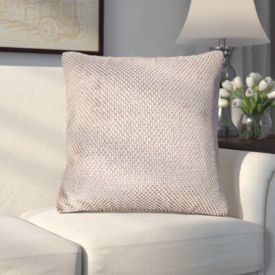 Applecrest Throw Pillow Size: 16, Color: Lotus