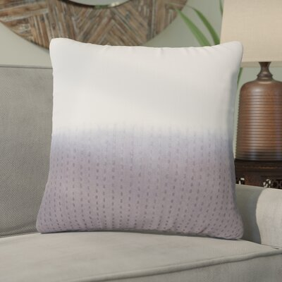 Jermaine Tribal Pattern Cotton Throw Pillow Color: Grey