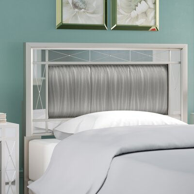 Alessia Panel Headboard Size: Twin
