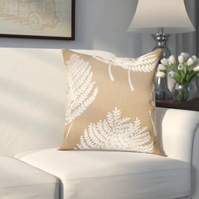 Oneill Pillow Cover Color: Gold