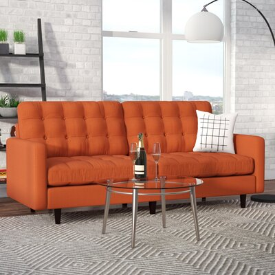 Efimov Sofa Upholstery: Orange