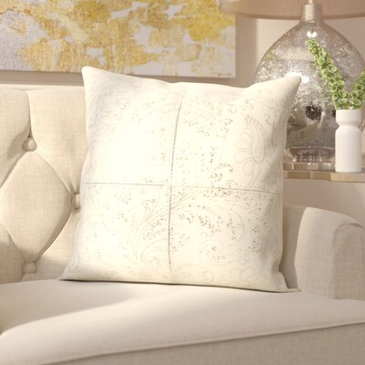 Gautreau Throw Pillow Color: White