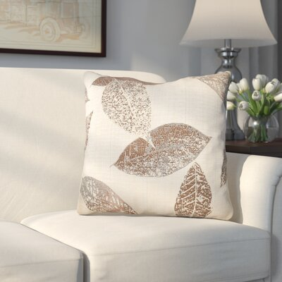 Soto Throw Pillow Color: Brown