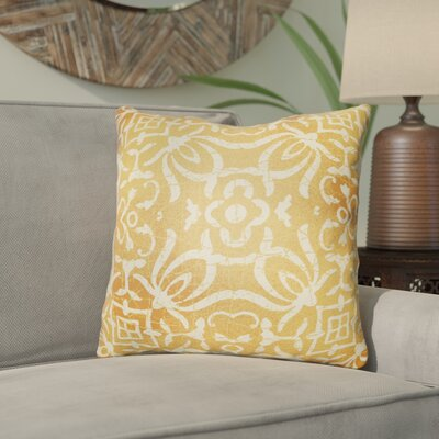 Libchava Indoor Throw Pillow Size: 20 H x 20 W x 4 D, Color: Sherbert
