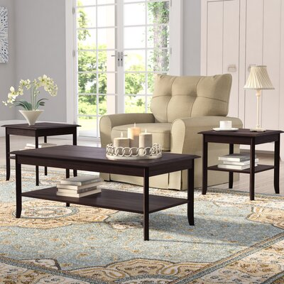 Jessica 3-Piece Coffee Table Set