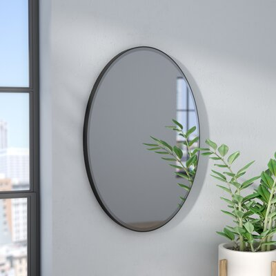Wade Logan Luna Mirror Finish: Oil Rubbed Bronze