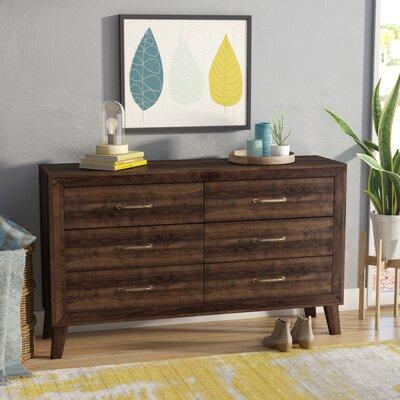 Amelia 6 Drawer Dresser